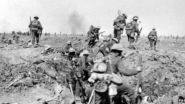 BBC News - WW1 soldier diaries placed online by National Archives