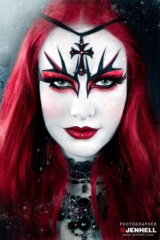 Les 71 meilleures images du tableau halloween f te des morts sur pinterest styles de - Maquillage fete des morts ...