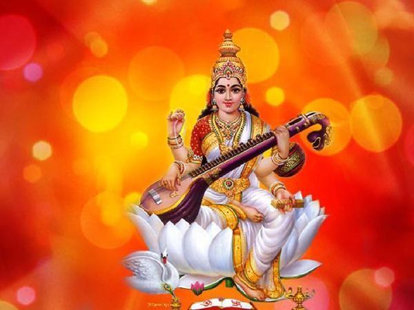 Maa Saraswati Wallpaper Full Size For Desktop Saraswati Devi Saraswati Photo Saraswati Goddess