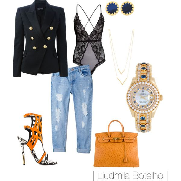 A fashion look from September 2015 featuring Balmain blazers, MANGO jeans and Lust For Life shoes. Browse and shop related looks.
