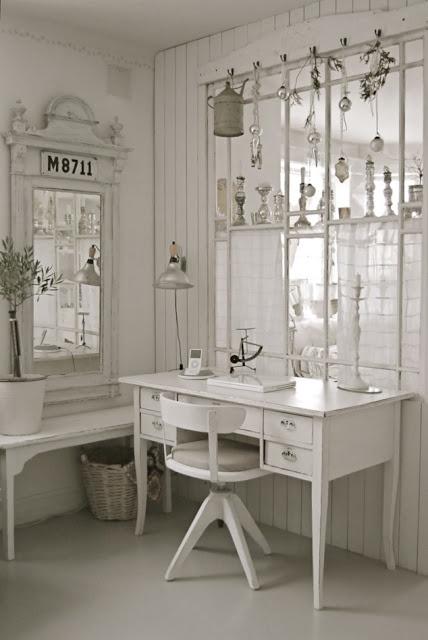 scandinavian white and light