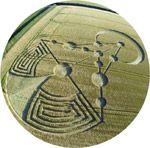 El fénomeno actual comenzó en el año 1976, cuando aparecieron los primeros círculos en Winchester (Reino Unido)