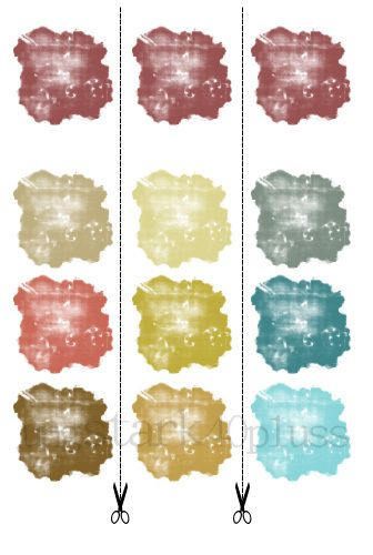 Årets färg 2015 - Marsala - Färgkartor