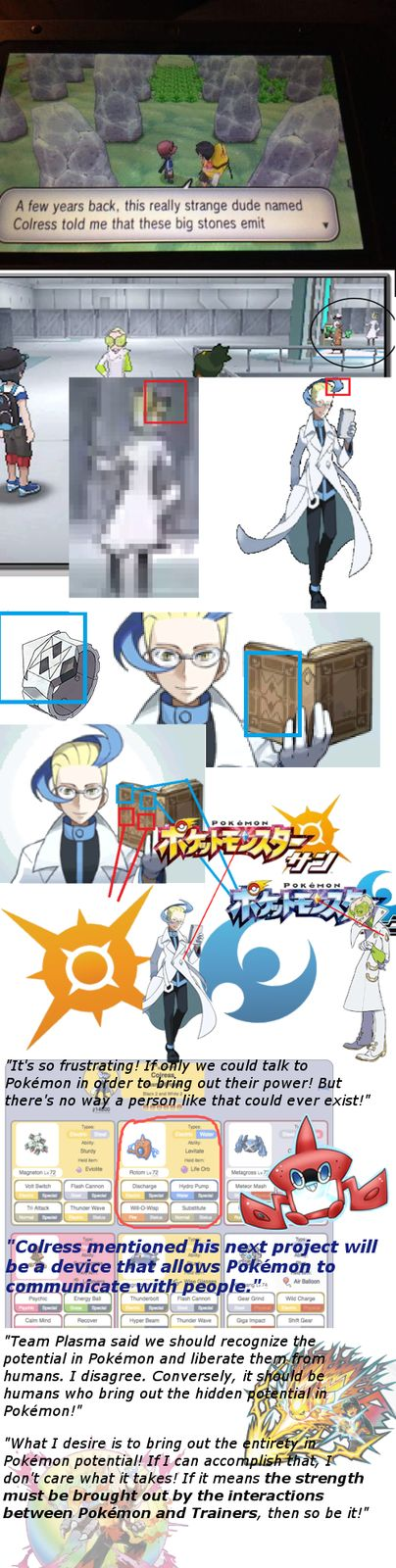Not this guy....I feel like they're trying to hard to make people to like the Unova games more......I liked them but it felt like the ending kind of just dropped off a cliff. They reference Unova a lot in the past two games...