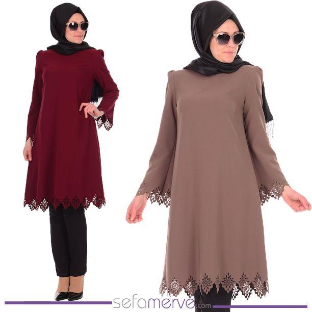 Hijab Laser Tunic 0100 #sefamerve #islamicclothing #hijabstyle #hijab #hijabfashion