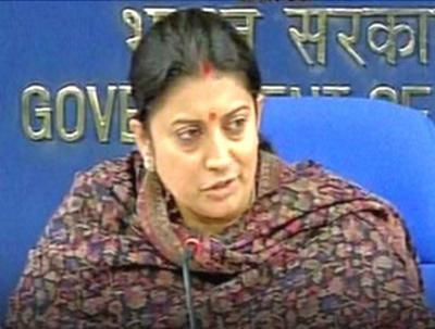 Posted on behalf of Abraham: Hyderabad student's suicide: Not a dalit versus non-dalit issue, don't ignite passion, Smriti Irani says