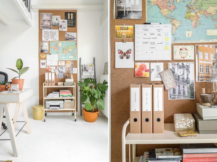 Werk jij ook vaak/graag vanuit huis? Op ons blog lees je hoe je ook thuis je werkplek overzichtelijk houdt.