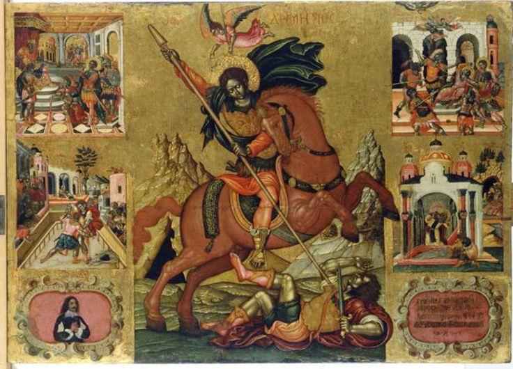 Τζάνες Εμμανουήλ – Emmanuel Tzanes [Ρέθυμνο, 1610 - Βενετία, 28 Μαρτίου 1690] | paletaart – Χρώμα & Φώς