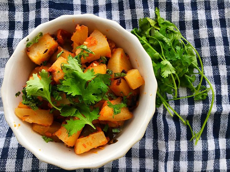 Indian style turnips #healthy