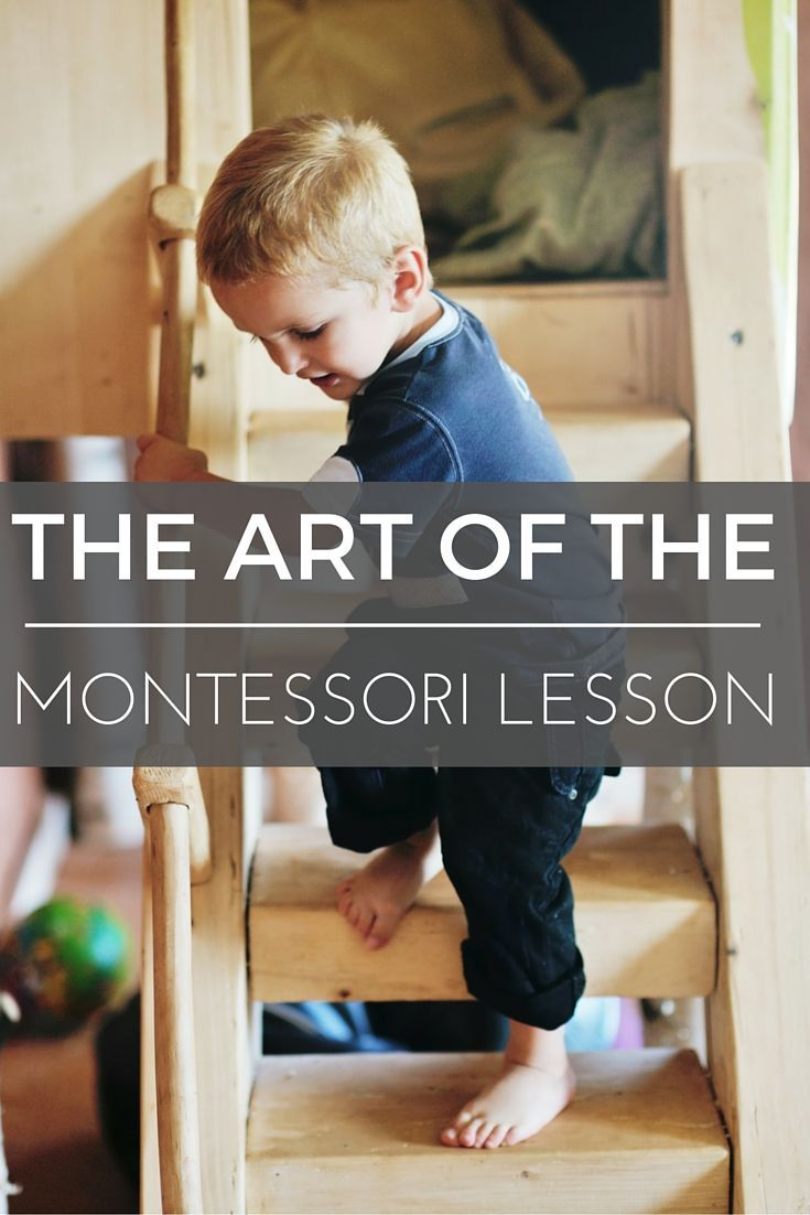There is an art to the Montessori lesson. This post includes key elements in the Montessori lesson. What to look for and how to prepare the lesson.
