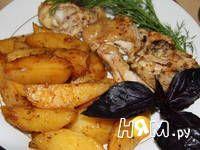 Приготовление картофеля в соевом соусе: шаг 5
