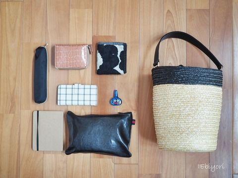 バケツ型カゴバッグとその収納 : IEbiyori