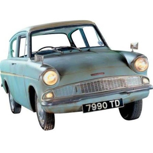 Blue Vintage Old Car Polyvore Moodboard Filler Ford Anglia