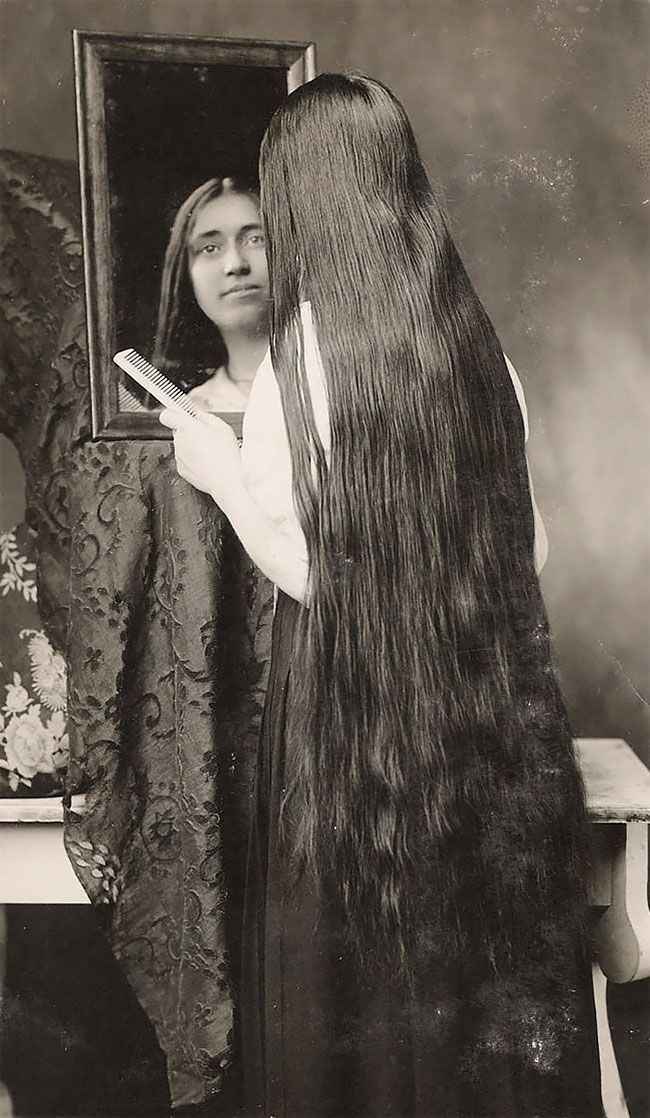Outrageously Long Hair Of The Victorian Era Will Make You ...