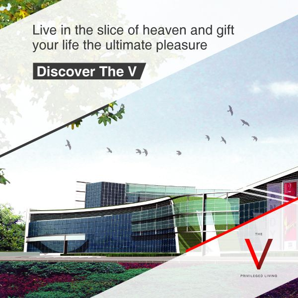 Heaven is just a choice away. Choose to live at The V: http://bit.ly/TheVKolkata