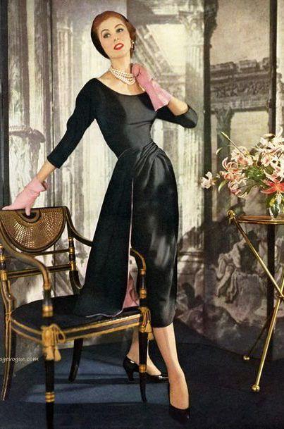 Dior Model Odile Kern 1950s Photos   The Art of Mike Mignola