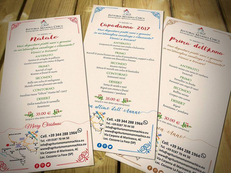 :) Buongiorno, questa mattina vogliamo deliziarvi con i menu delle feste! Curiosi di assaggiare le pietanze? Prenotate al 344 288 1964