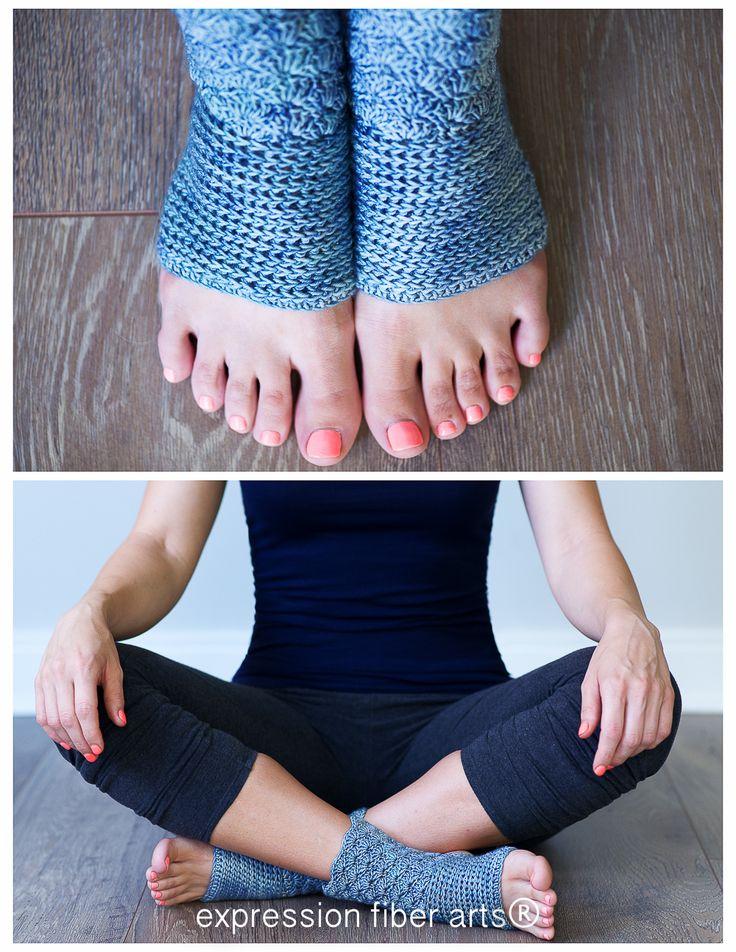 Vistoso Libre De Yoga Patrón De Calcetín De Punto Foto - Manta de ...