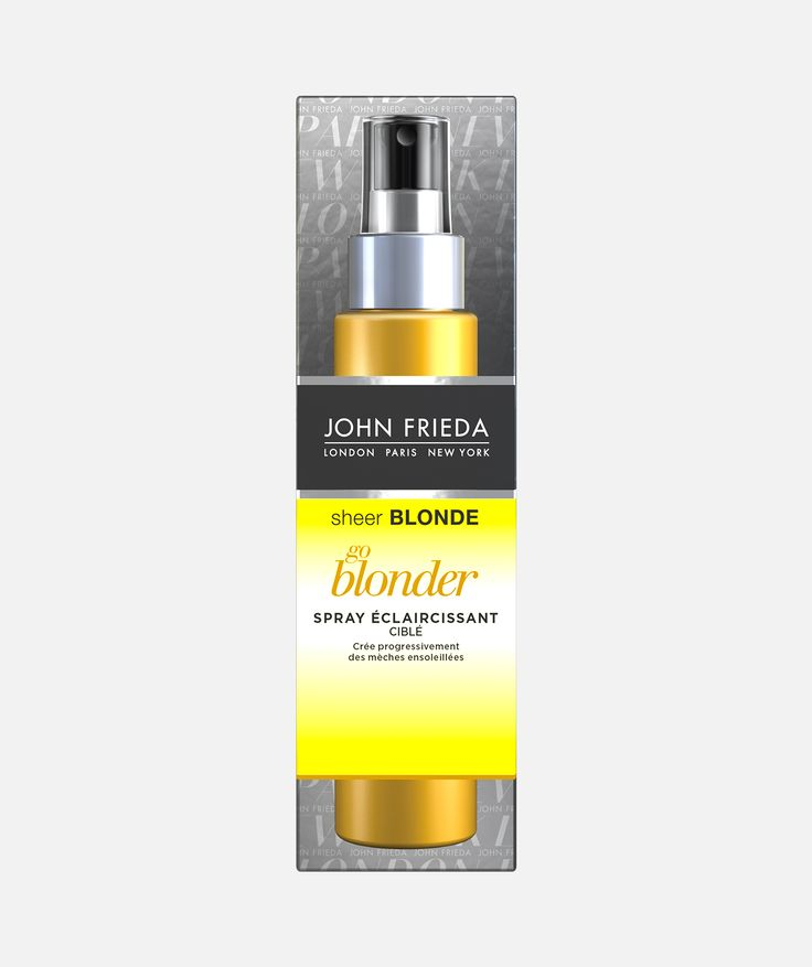 sheer_blonde_spray go blonder_1 - Eclaircissant Cheveux Colors