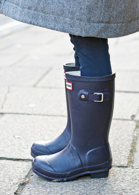Keep little toes dry with Hunter's rain boots