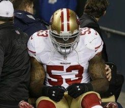 Torn ACL and MCL for NaVorro Bowman