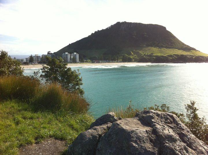 Mt Maunganui Beach in Tauranga, Bay of Plenty