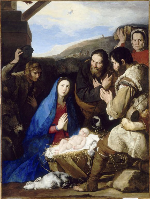 Jusepe de Ribera The Adoration of the Shepherds (1650) Musée du Louvre, Paris