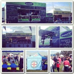 #wrappedupexpress & #snackattack @melbournecity #festivalcatering #eventcatering #fiestaevents