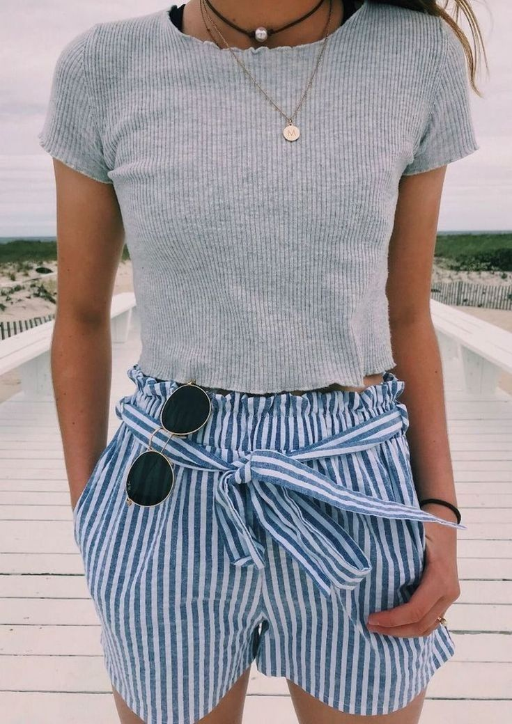 30 Cute Outfit Ideas To Wear This Summer   Dress & Outfits  #cute #Dress #Ide   ...