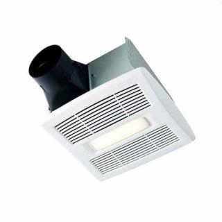 Broan Ae80l Bathroom Fan Light Ceiling Exhaust Fan Bathroom Exhaust Fan