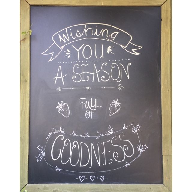 Whether it be strawberry, blueberry or cranberry, whatever you're spreading this holiday season, be sure to make it good. Happy Friday!   Art work by Monique Lomax   #Beerenberg #BeerenbergFarm #Christmas #Chalkboard