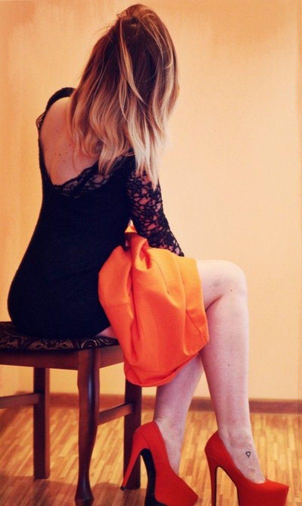 Koronkowa sukienka wieczorowa odkryte plecy Dresstination - Dresstination