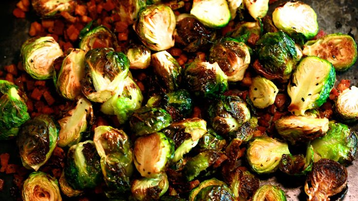 Brussels Sprouts with Pancetta and Balsamic Vinegar - See more at: http://www.rachaelrayshow.com/food/recipes/19102_brussels_sprouts_with_pancetta_and_balsamic_vinegar/#sthash.WEOPCS6i.dpuf