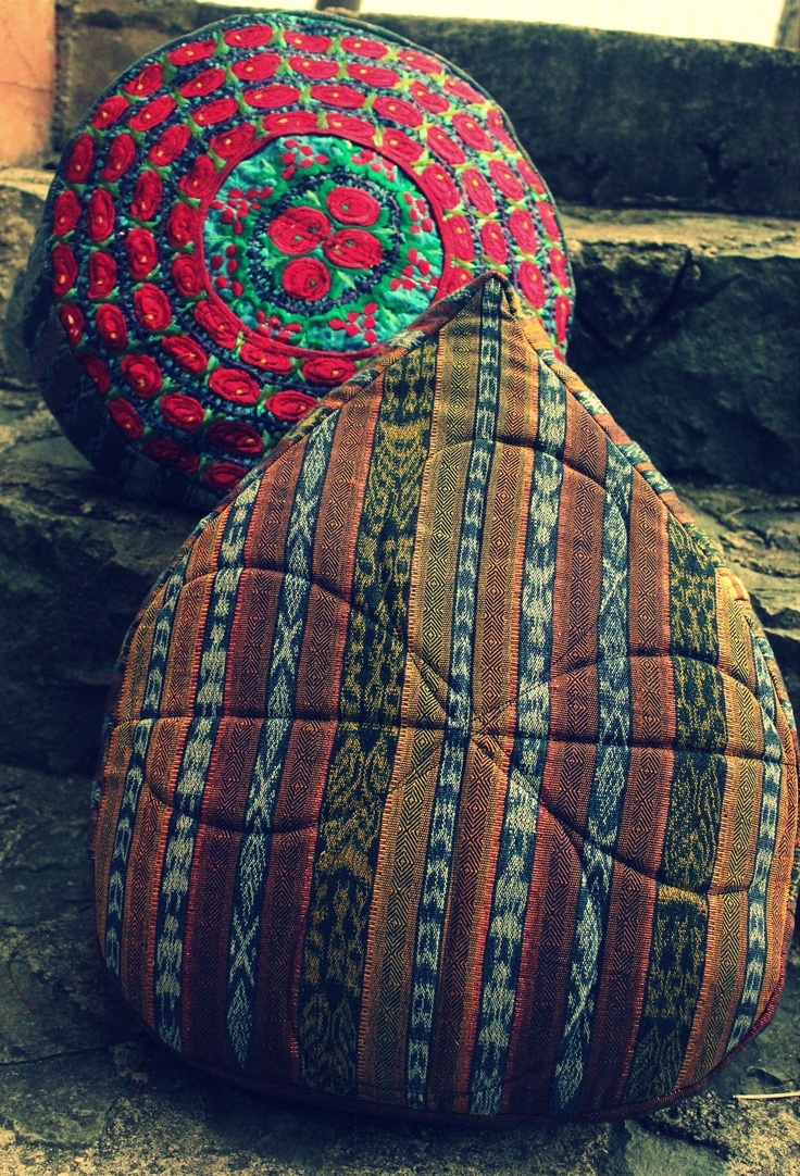Yoga and Meditation Cushions  http://www.justafairtrade.org/store/