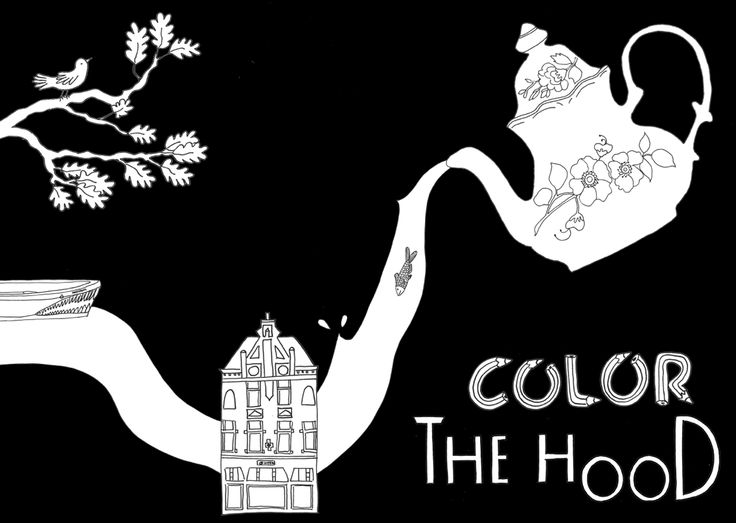 Colour the hood coloringbook