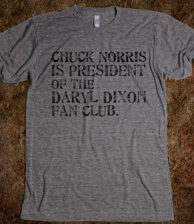 Chuck Norris for President, The Walking Dead, Daryl Dixon is the New Chuck Norris, skreened, skreened.com