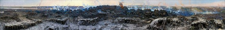 "Franz Roubaud. Panoramic painting. ""The Siege of Sevastopol."" (1904)"