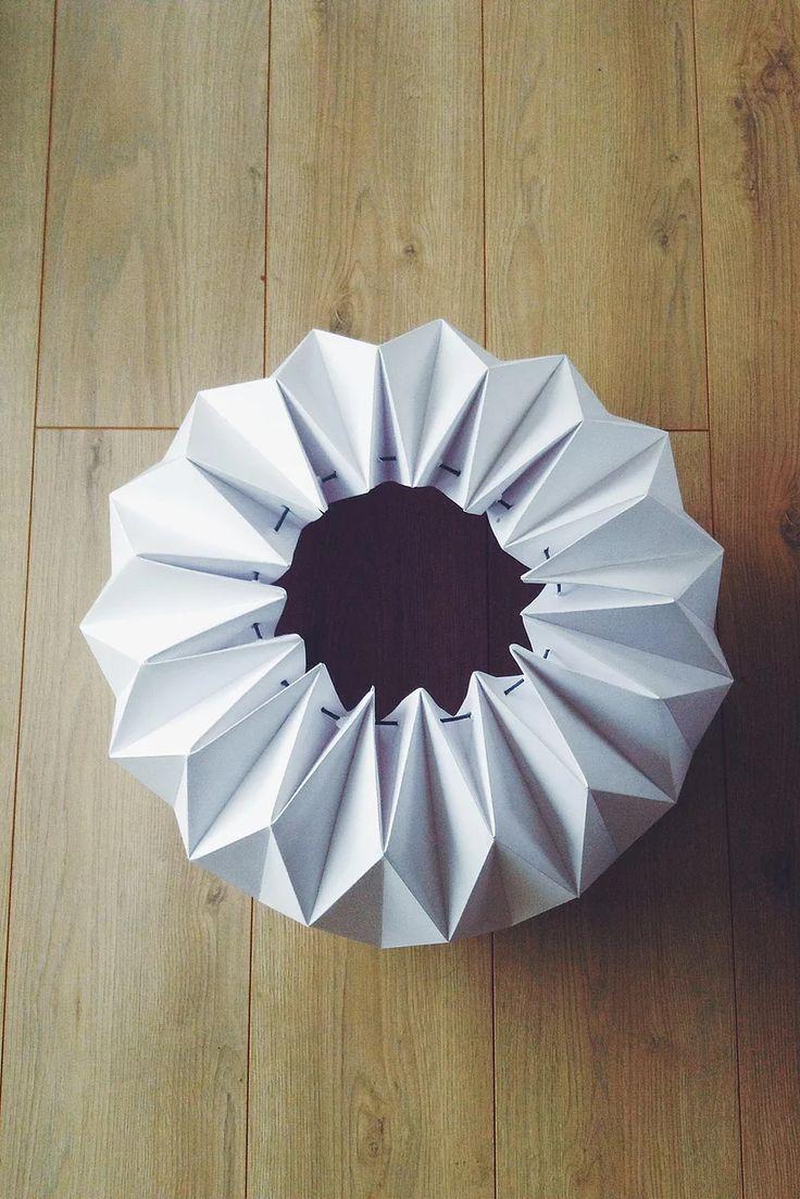 Oui, oui, oui ! J'ai testé le guide DIY pourun trop choupi abat-jour origami ! C'est parfait pour les petits budgets, par contre faut pas