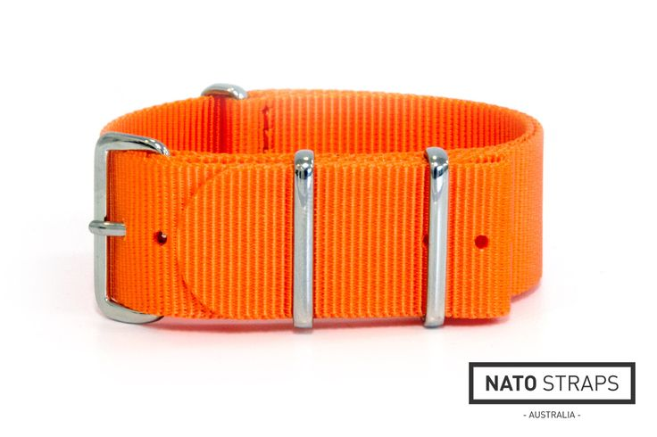Orange watch strap | Watch Straps Australia