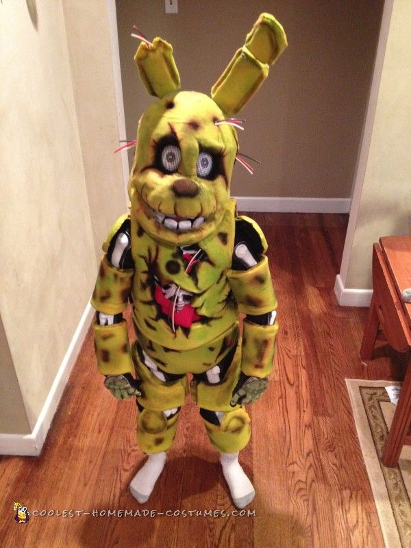 5 Nights At Freddy's Springtrap Costume...