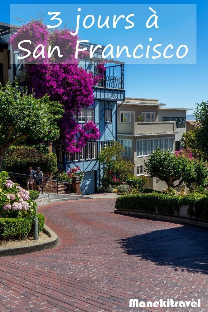 Que faire pendant 3 jours à San Francisco ? Voici quelques propositions qui devraient vous plaire et qui vous donneront envie d'y revenir. #voyage #amerique #roadtrip #sanfrancisco