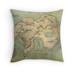 Peter Pan Neverland Map