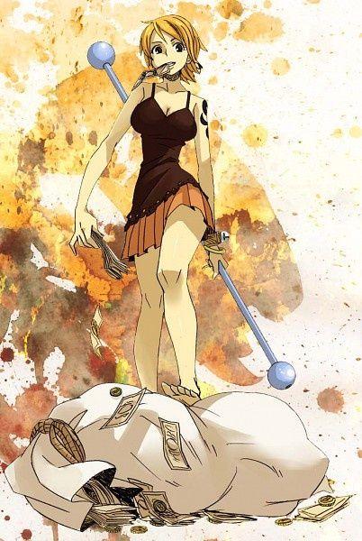 Nami,Straw Hat Pirates - One Piece,Anime