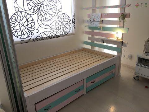 簡単DIY!真似したくなる【すのこ】でリメイクしたベッドが素敵! | キナリノ