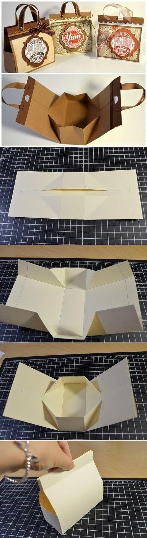 Мини-сумочка — идея для подарочной упаковки