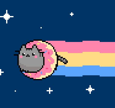 Tu vida en imágenes: Pusheen The Cat (Gifs)