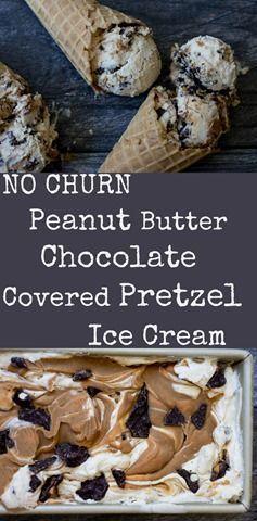The BEST peanut butter ice cream!