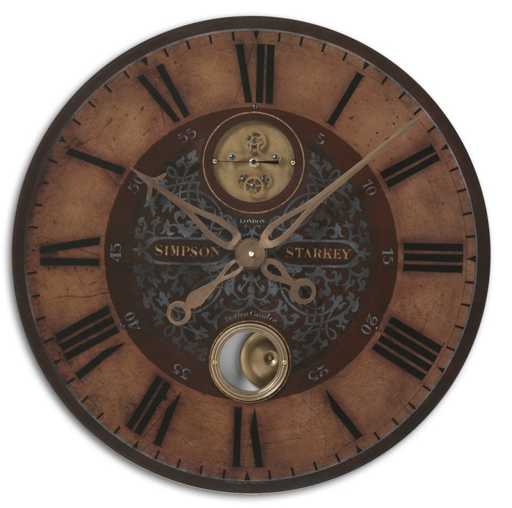 Gear Wall Decor 13 best large gear clock ideas images on pinterest   gear clock