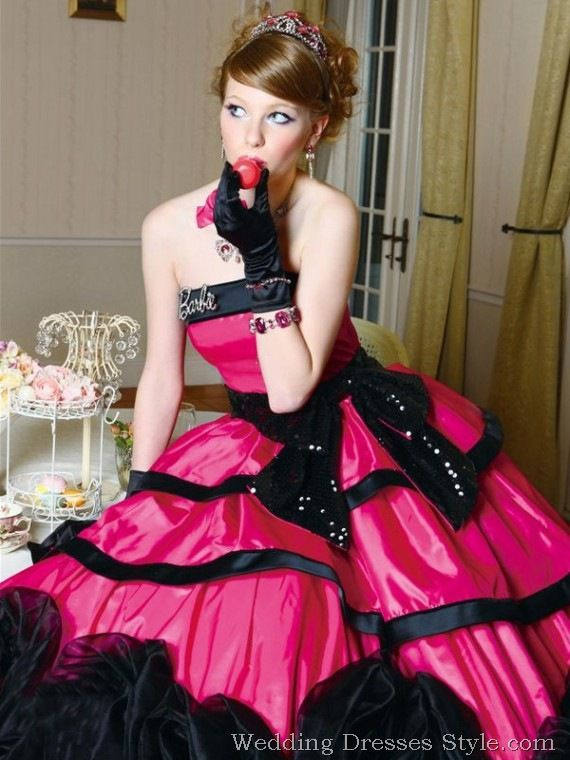 79 best images about Hot Pink/Black and White Wedding on Pinterest ...