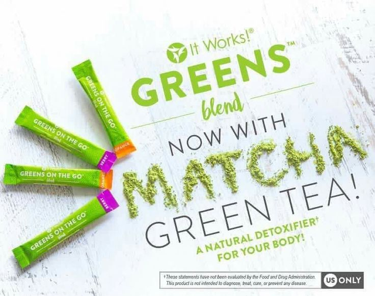 Starbucks puts matcha in their drink, so why can't It Works!   Text me to get your greens! 720-278-1870